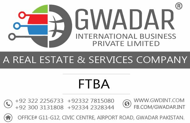 Civic Center Gwadar, FTBA Gwadar, Property in Gwadar