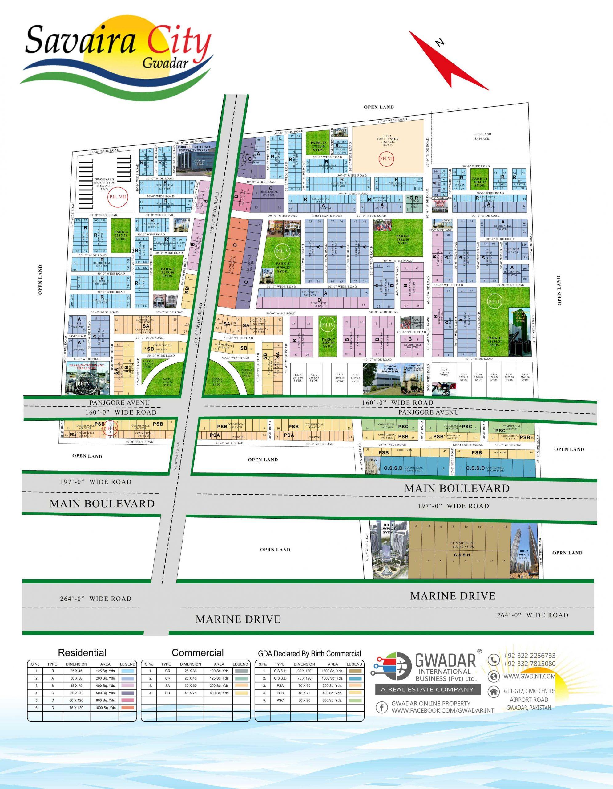 Savaira city Gwadar, Investment in Gwadar, Gwadar property rates