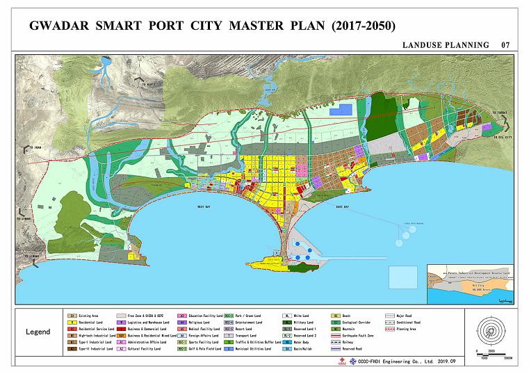 Gwadar smart port city master plan 2020
